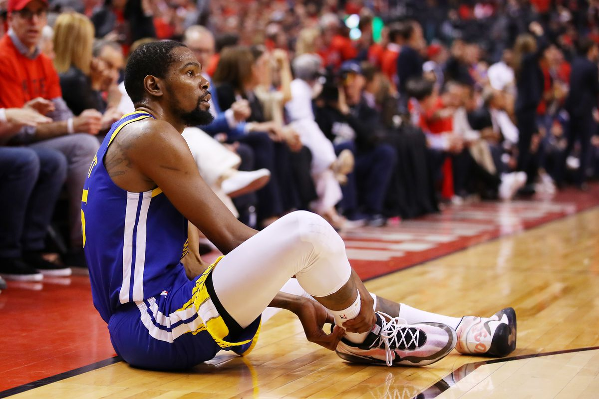 Kevin Durant suffers Achilles injury in Game 5 of Finals