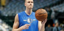 Mavericks' Porzingis bloodied after altercation in Latvia