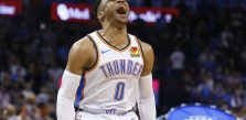 Russell Westbrook joins Wilt Chamberlain in NBA record book with 20-20-20 game