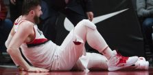 Trail Blazers' Nurkic undergoes surgery on left leg
