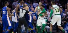 Celtics' Smart fined K for pushing Embiid
