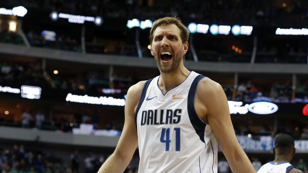Nowitzki could top another NBA legend against Pelicans
