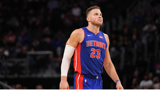 Pistons' Blake Griffin Has Knee Surgery, Out Indefinitely