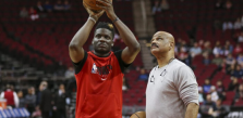 Clint Capela Out at Least Two Weeks With Heel Injury