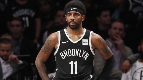 Nets' Irving Has Medial Sprain Ligament Sprain, Out at Least a Week