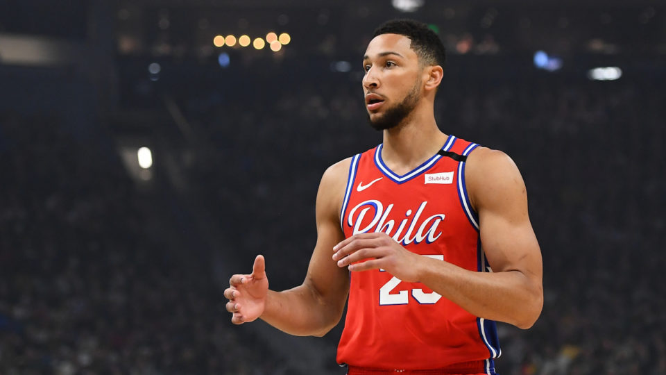 Simmons Ready To Play, Says Sixers' GM Elton Brand
